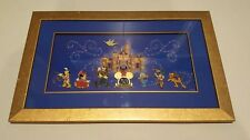 Disney Frame Pin Set Happiest Homecoming March Disneyland 50th with COA