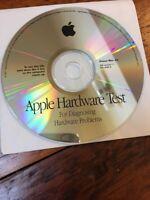 Macintosh Hardware Test Diagnostic Power Mac G4 Software Disc CD 2001