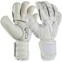 Rinat Uno Alpha All White Goalkeeper Soccer Gloves - Golero Sport