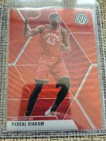 2019-20 Mosaic Basketball TMALL Asia Pascal Siakam Red Wave Prizm SP