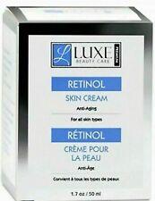 Luxe Beauty Care Retinol Skin Cream Anti Aging Wrinkles All Skin Types-1-7-oz