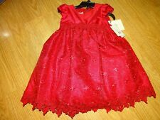 84597bc66 Laura Ashley London Toddle Girls Size 2t Red Dress Christmas Wedding