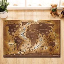 Gold Bath Mats EBay - Old world map rug