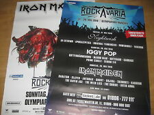 Iron Maiden/Rockavaria Tourplakat/Tourposter 2016 - DINA 0 - München