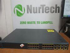 2x Cisco Catalyst 2960G 24-Port Gigabit Ethernet Switch WS-C2960G-24TC-L V03