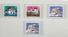 Suiza Castillos Pro Patria Serie del año 1978 (EC-765)