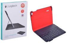 NEW iPad Air A1474 A1475 A1476 Bluetooth Logitech Case w Keyboard US RU Layout