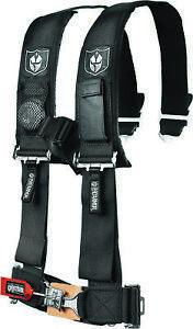 "Pro Armor 4Pt Harness 2"" Pads Black A114220"