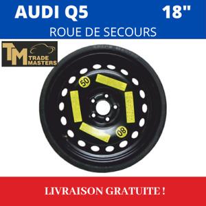 """Roue de secours AUDI Q5 (2008-20) 18"""" VREDESTEIN NEUF ! 8R0601027 Audi d'origine"""