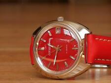 Citizen Mechanicl Manual Vintage Watch 70s Red  Japan