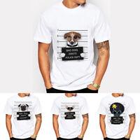 Bad Dog FRENCH BULLDOG Men Casual Short Sleeve T-shirt Summer Tee Tops Hot Sale