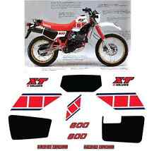 Yamaha XT 600 43F 1984 Mod Bianco Adesivi Grafiche Stickers Decal