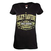 Sturgis Harley Davidson® Women's After Gold Black T-Shirt