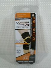 Copper Fit Pro Series Compression Knee Sleeve - LARGE - NEW **FREE S/H**