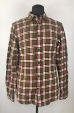 DIESEL Men's S-ANOBU Long-Sleeve Casual Plaid Shirt Size L (F286)