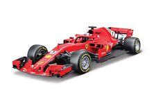 Bburago 1:18 Ferrari SF18-T F1 Diecast Racing Car 2018 Season Raikkonen Model