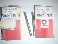 2 NOS GM DELCO Disc Brake Pad Retaining Pins 68 69 CAMARO JL8 1965-1982 CORVETTE