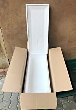 Boite transport AVEC CARTON caisse isotherme 60x26x16 polystyrène thermobox d 14