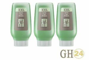 Wella EIMI Sculpt Force Flubber Gel 3x 250 ml XXL - original deutsche Ware
