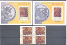 2001 MILENARIO NACIMIENTO SANTO DOMINGO DE SILOS EDIFIL 3817/19 ** MNH TC12468