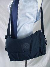 Kipling authentic navy blue cross body daddy baby diaper messenger bag