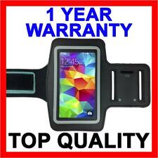 BLACK Sports Gym Armband Arm Band Running Case for Samsung Galaxy S5 S4 S3 S7 S8