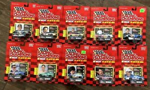 1997 Nascar Racing Champions Stock Cars 1/64 DieCast Lot of 10 NewInBox No Dups