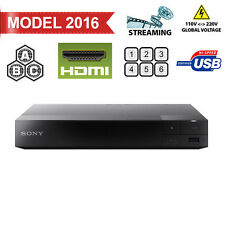 2016 Sony S3700 Region Free DVD & BD ZONE ABC Blu-Ray Disc Player- Built in WIFI