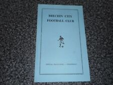 More details for brechin city  v  nairn county  1970/1  scotland cup 1st round ~ december 5th