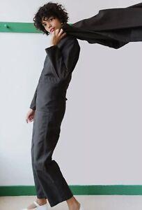 NEW CARON CALLAHAN BLACK FINCHER JUMPSUIT - SMALL - NWOT