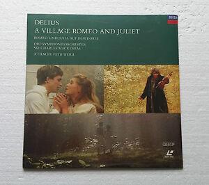 Delius - A Village Romeo and Juliet, Sir Charles Mackerras, Laserdisc LD5