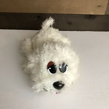 Pound Puppies White Electronic Dog That Moves And Barks