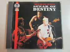 SPEAR OF DESTINY TIME OF OUR LIVES THE BEST OF UK PRE-OWNED 1995 14 TRK CD VD449