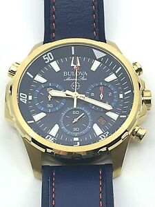 Bulova Men's Marine Star Watch - 97B168