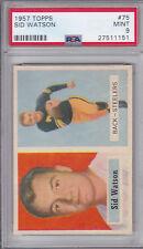 1957 Topps Sid Watson #75  PSA 9