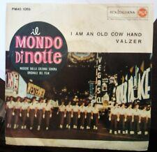 Piero Piccioni – I Am An Old Cow Hand  45 giri 1960 OST Il Mondo Di Notte