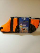 Guardian Gear Aquatic Pet Preserver Safety Life Jacket XXL Orange NWT