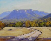 Megalong Valley Landscape Painting, oil painting, original Australian scene