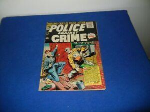 VINTAGE POLICE AGAINST CRIME #9-10 CENTS