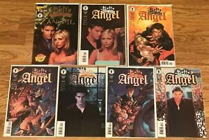 BUFFY THE VAMPIRE SLAYER/ANGEL #1/2 WIZARD COA with #1, #2 , #3 MINT Condition