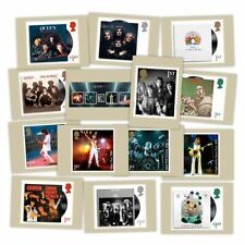 Great Britain 2020 Queen Music Giants Set/14 Royal Mail Postcards