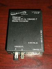 Transition Networks Ethernet Media Converter E-Tbt-Frl-03