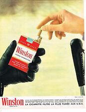 PUBLICITE ADVERTISING  1964   WINSTON  cigarettes 2