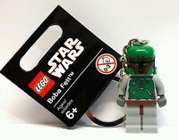 Lego Star Wars - Boba Fett Keyring/Keychain NEW Birthday Gift