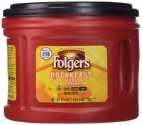 Folgers Breakfast Blend Ground Coffee, Mild Roast, 25.4 Ounce