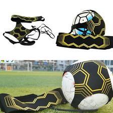 Adjustable Football Kick Trainer Soccer Ball Training Equipment Elastic Belt US
