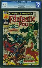 Tu Four Annual # 5 US Marvel 1967 silver surfer Black Panther Inhumans CGC