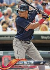 (25) 2018 Topps Update LEONYS MARTIN Base Card LOT #US149 Indians