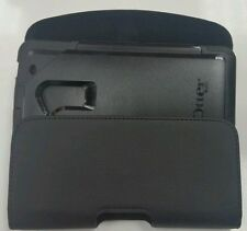 FOR HTC Desire 530 XXL LEATHER  BELT CLIP HOLSTER FIT OTTERBOX DEFENDER CASE ON