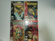 The Wolverine Saga 1989 Complete Set Run Lot 1-4 VF/NM Marvel X-Men